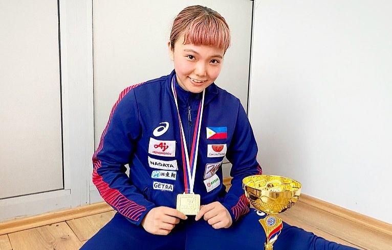 Junna Tsukii karateka gold Olympics