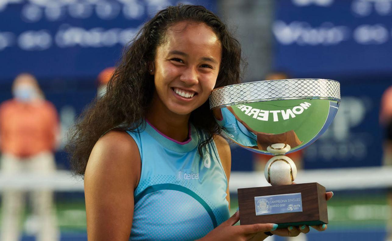 Leylah Annie Fernandez 1st pro title at Monterrey Open