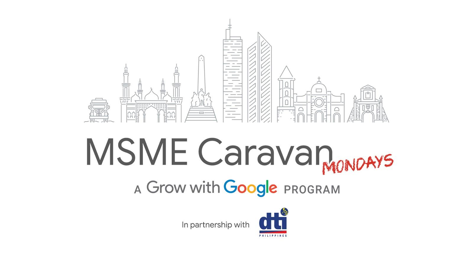 Google DTI launch MSME Caravan Mondays