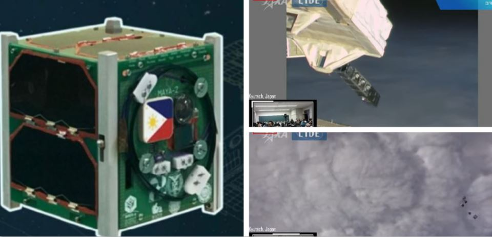 Philippines' Maya 2 cube space mission