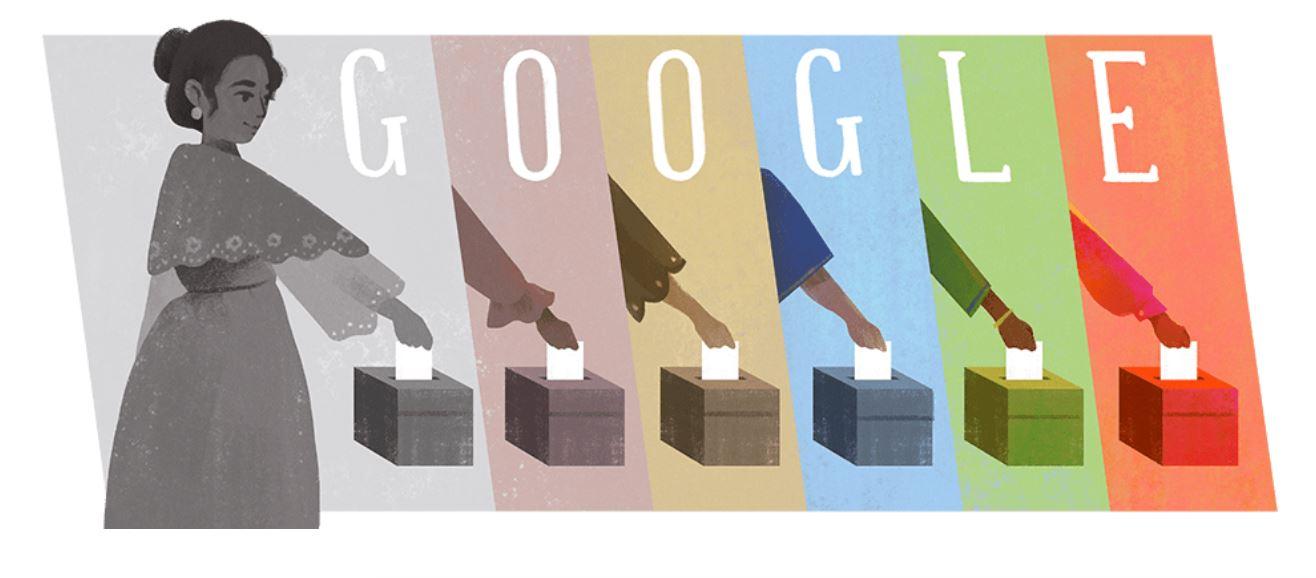 Google Doodle Rosa Sevilla de Alvero