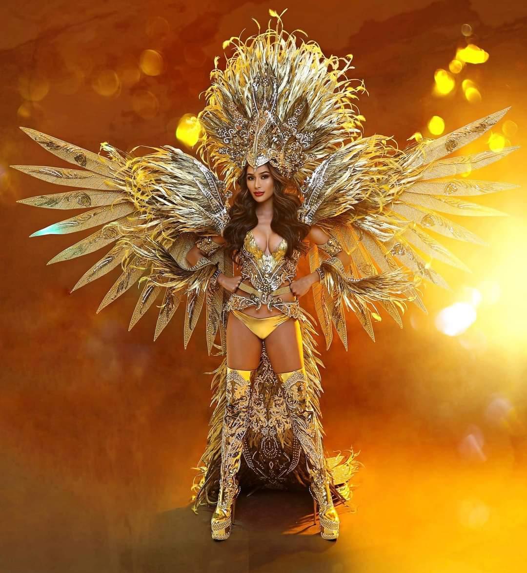 Samantha Bernardo eagle-inspired costume