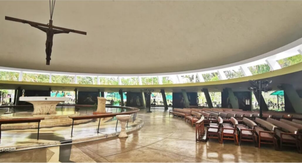 Restored UP Chapel Holy Week