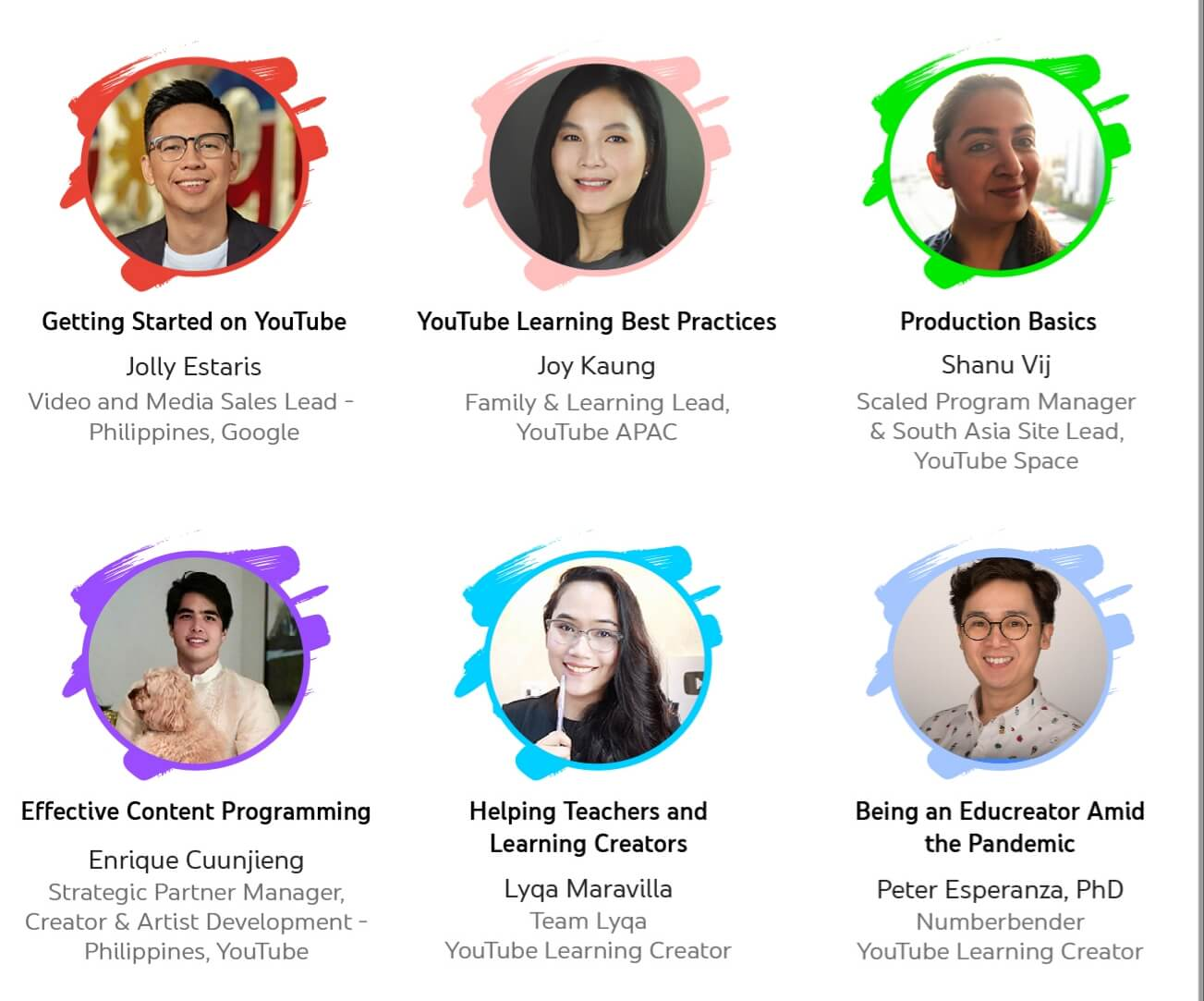 YouTube Education online event
