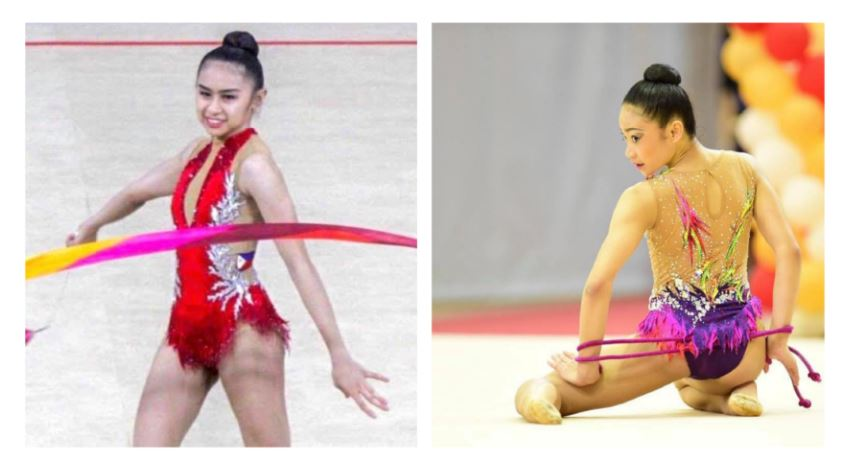 Philippines' teen gymnasts medals