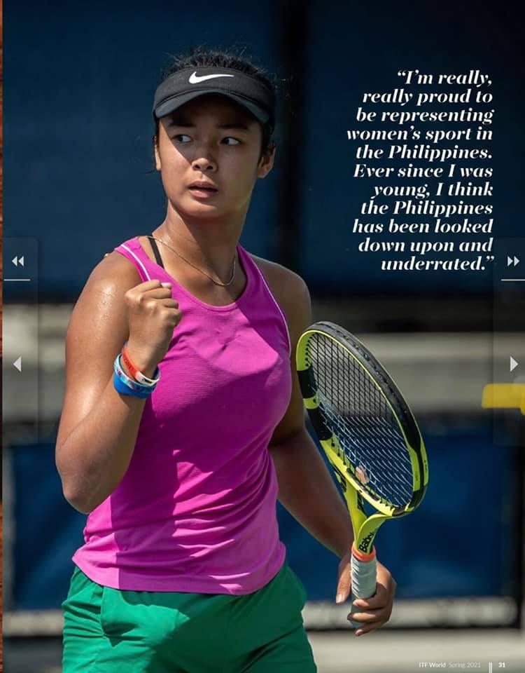 Alex Eala Tennis Pro Women's Rankings