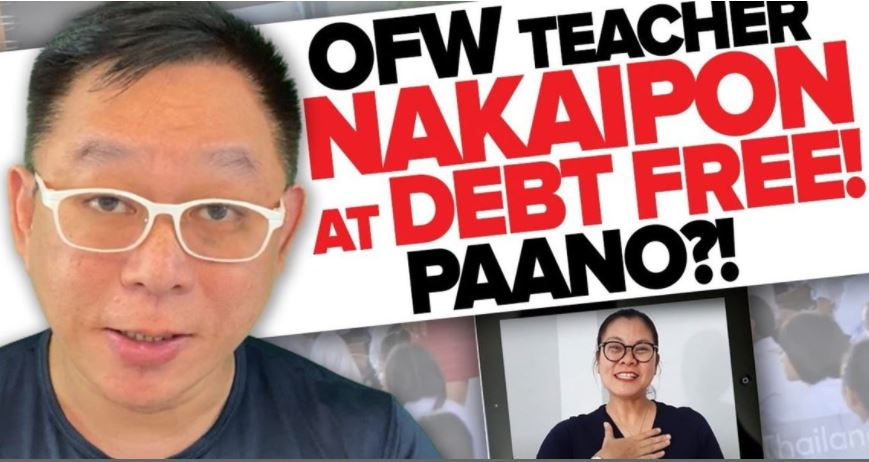 Chinkee Tan OFW teacher debt-free