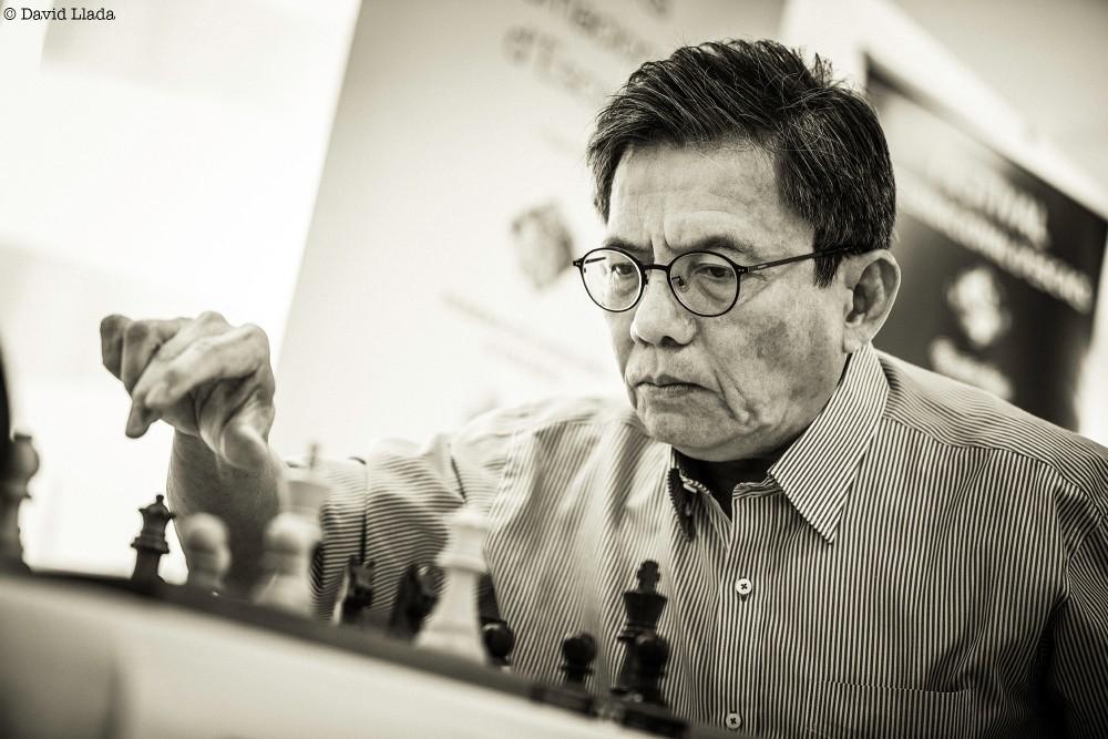 Filipino Grandmaster Eugene Torre World Chess Hall of Fame