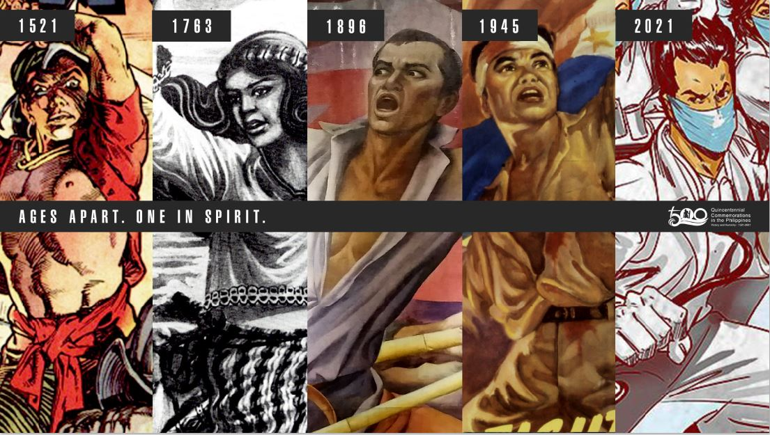 Filipino heroes from LapuLapu to frontliners feted in Victory of Mactan event