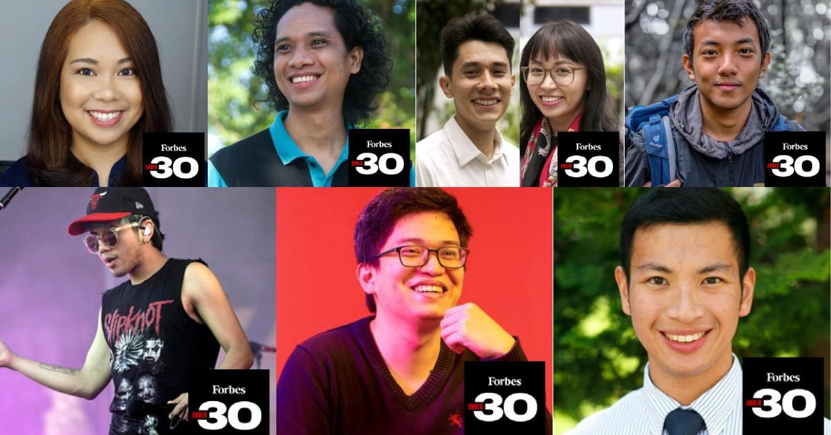 "Forbes  8 Filipinos ""30 Under 30 Asia 2021"""