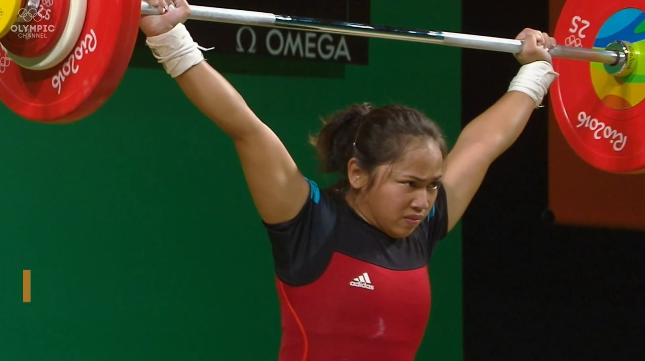 Hidilyn Diaz Tokyo Olympics berth