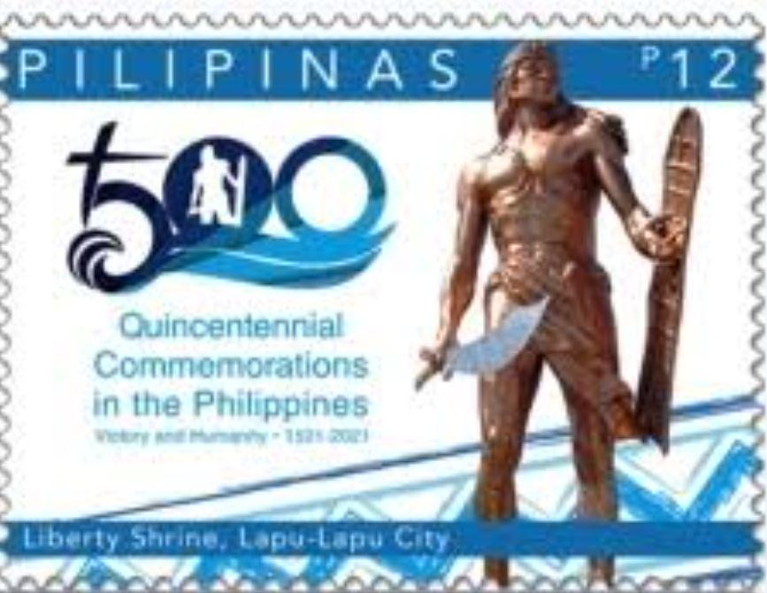 Post Office stamps Lapu-Lapu's Victory