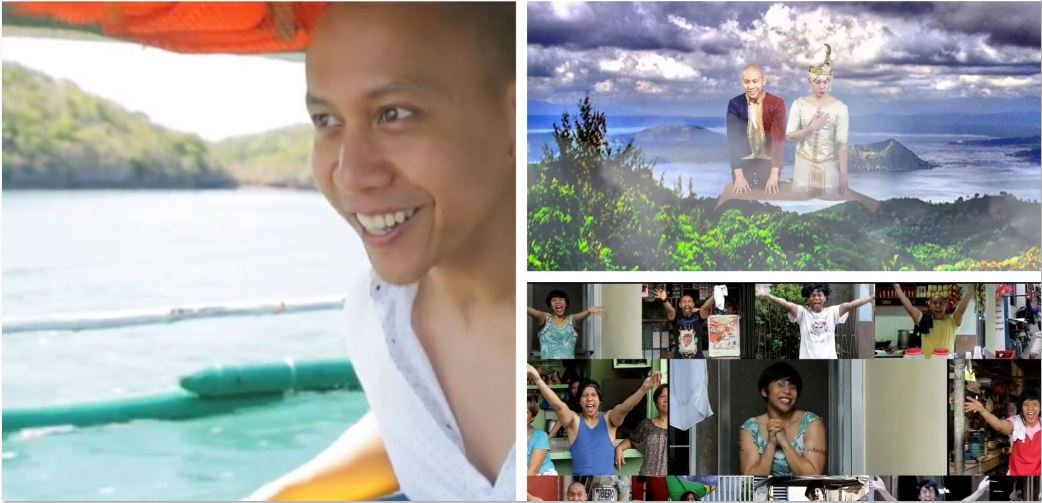 Mikey Bustos Philippines Disney themes