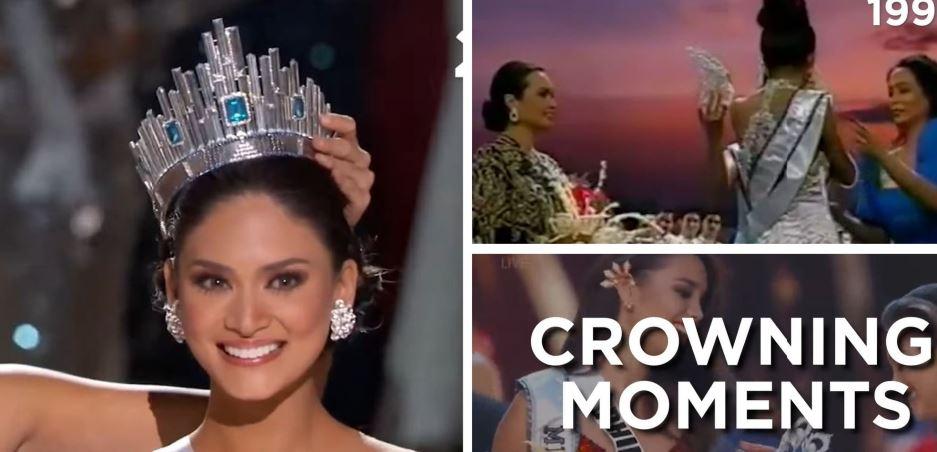 Filipina Miss Universe winners crowning moments
