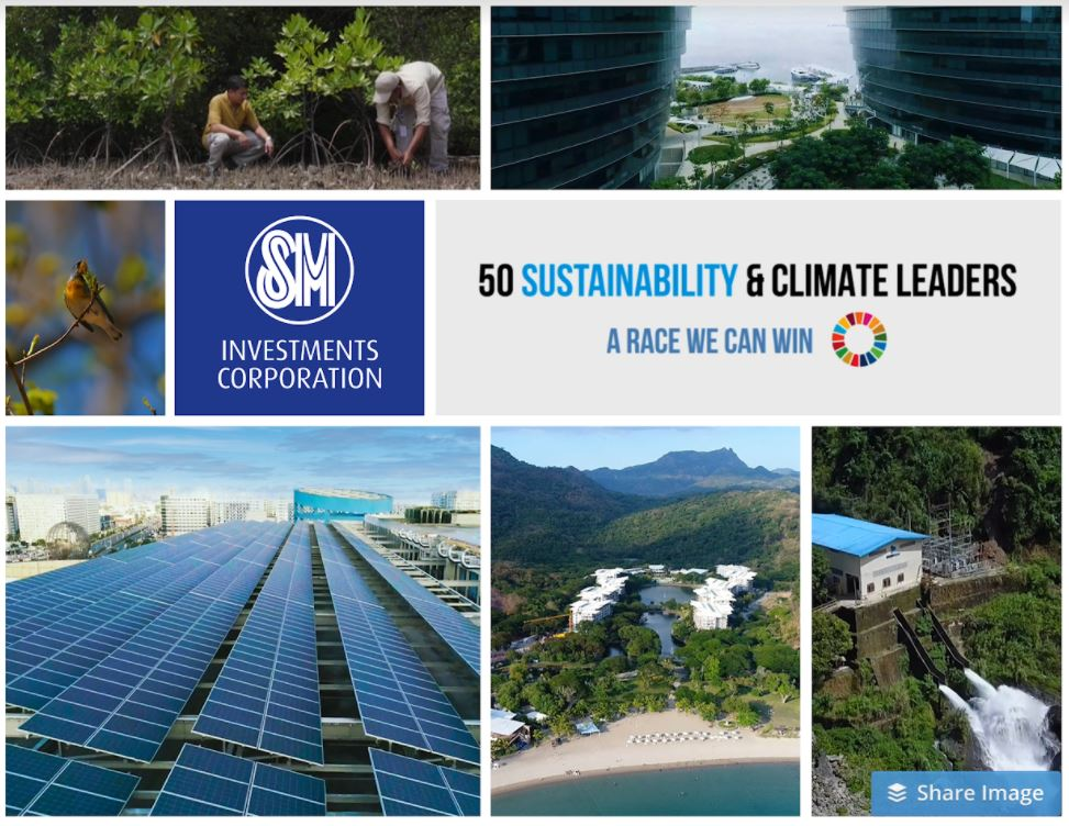 Philippine SM Investments global climate campaign