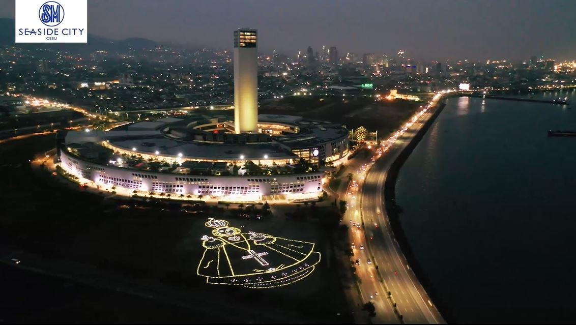 Santo Niño de Cebu giant solar art