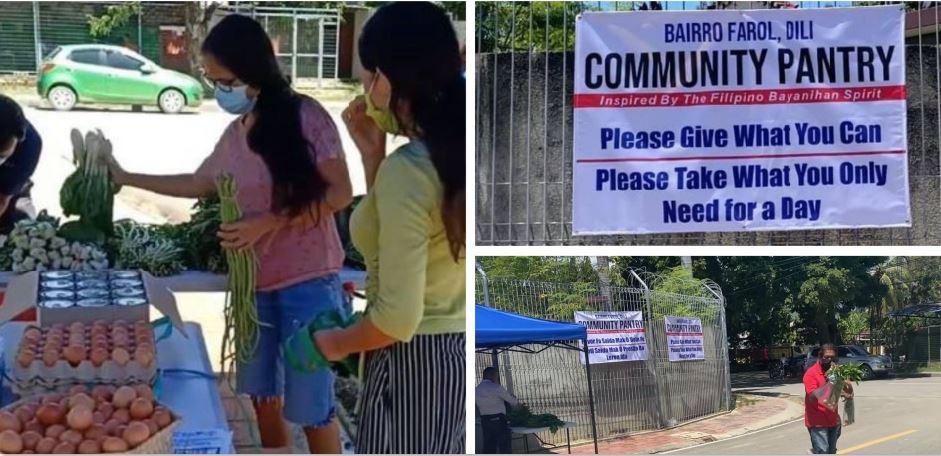 Timor-Leste Filipino community pantry