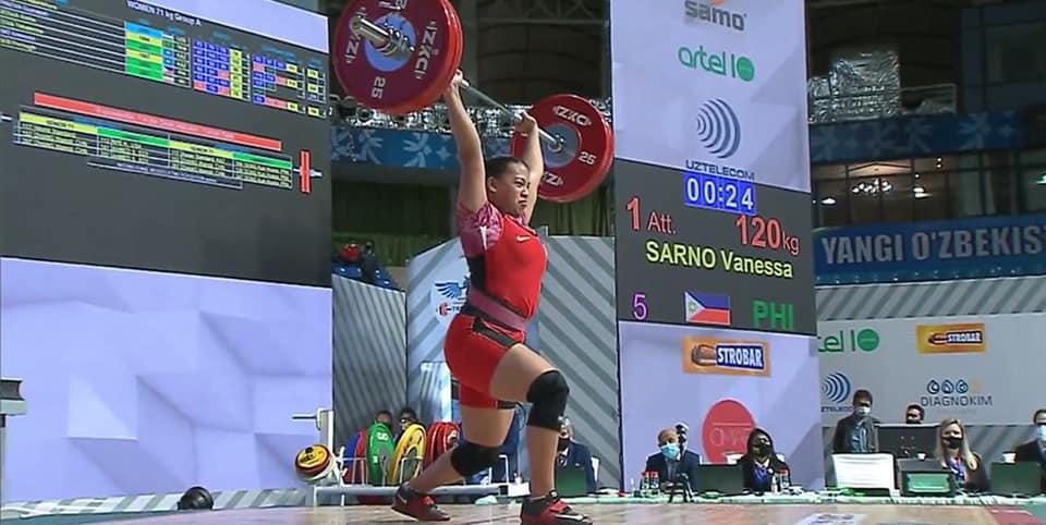 Philippines Asian Weightlifting Vanessa Sarno