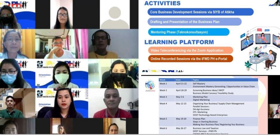 CALABARZON OFWs Pioneer training tech-based enterprises