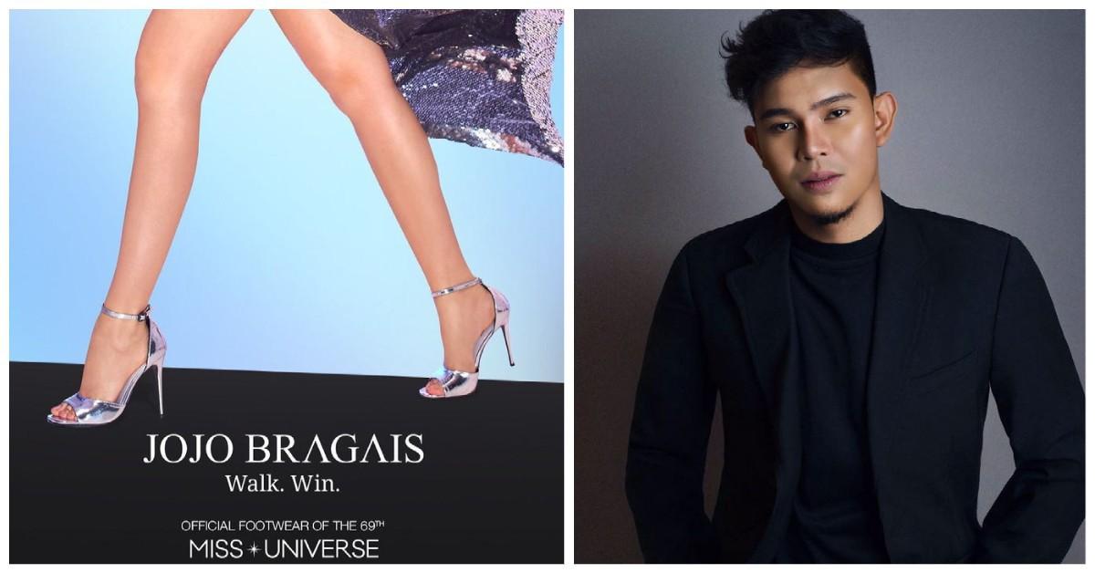 Miss Universe Jojo Bragais Philippine-made footwear