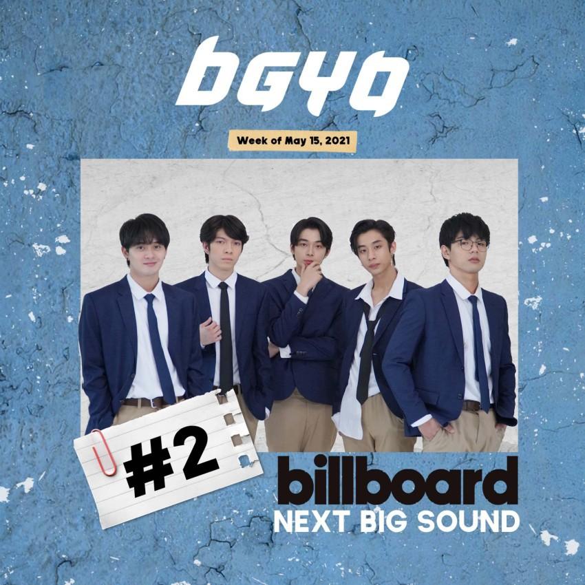 BGYO pop group Billboard's Next Big Sound