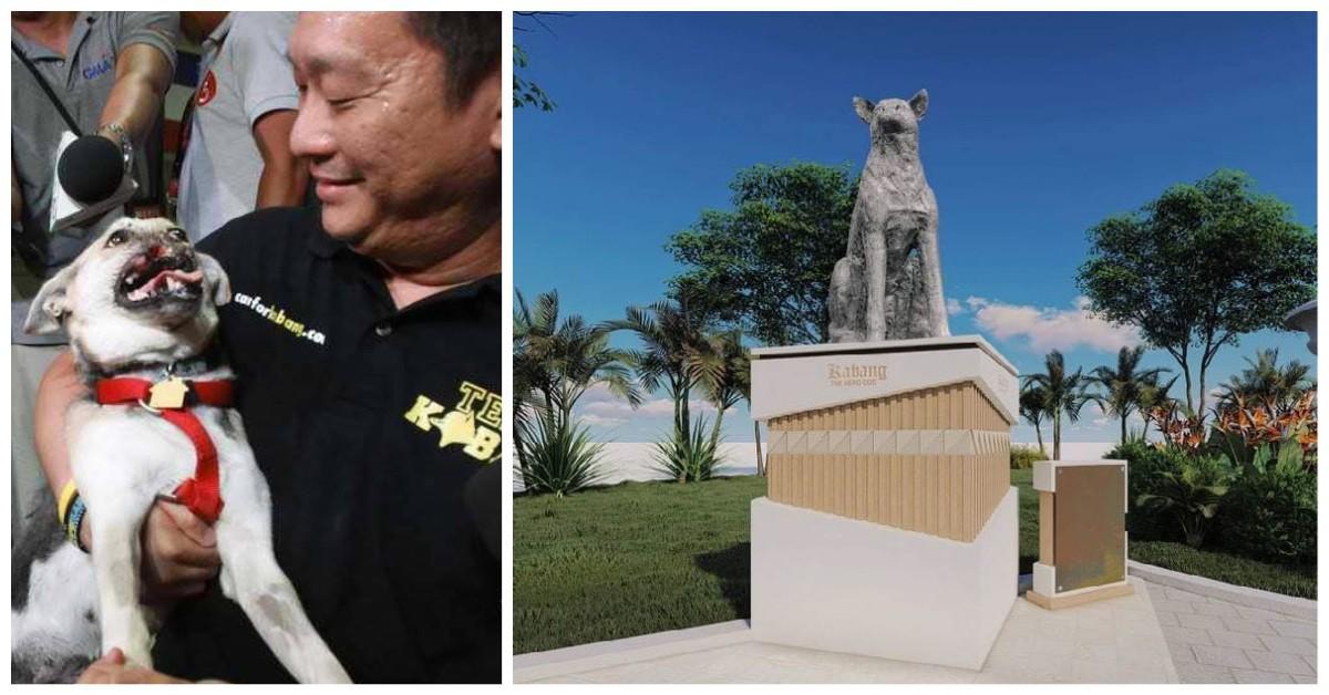 Philippines' 1st hero dog memorial aspin Kabang