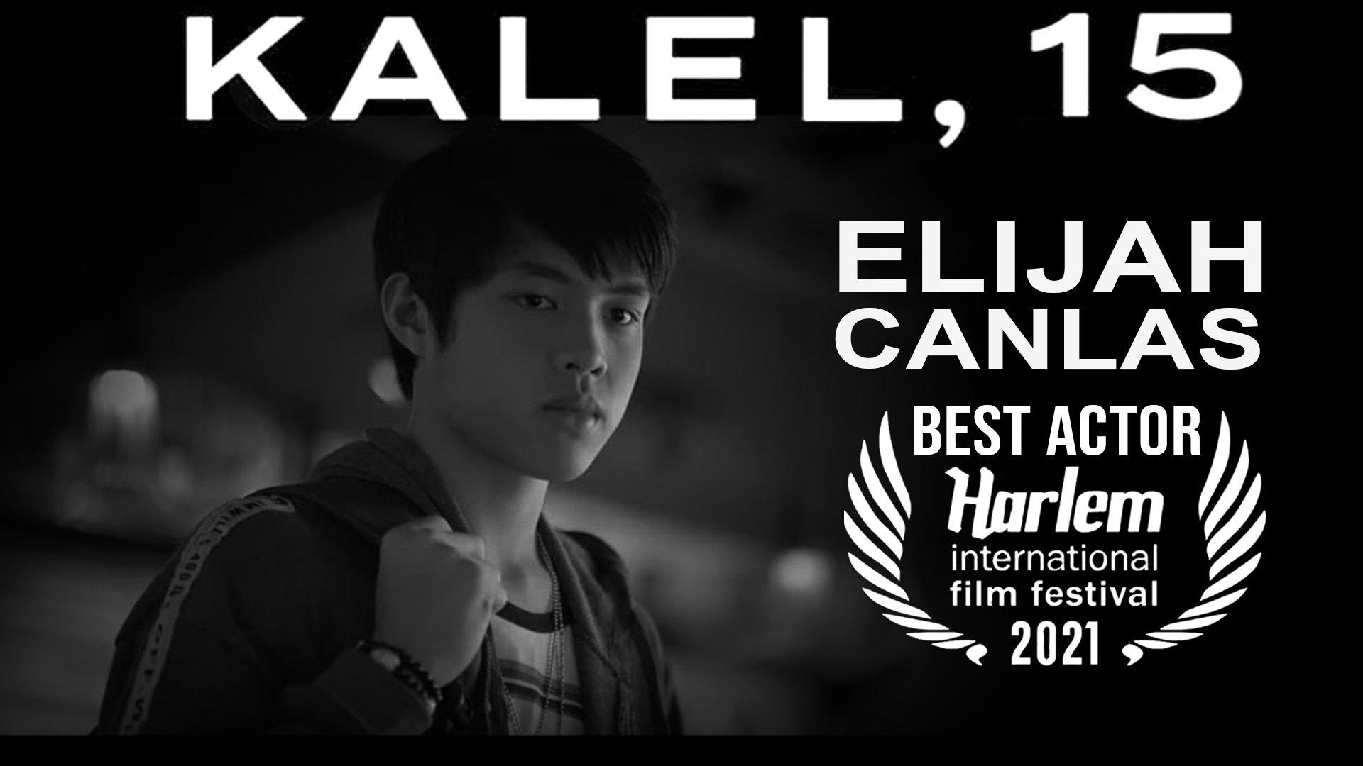 Elijah Canlas Best Actor Harlem International Film Festival