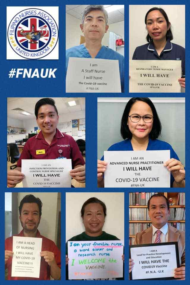 Filipino nurses UK National Healthcare Award