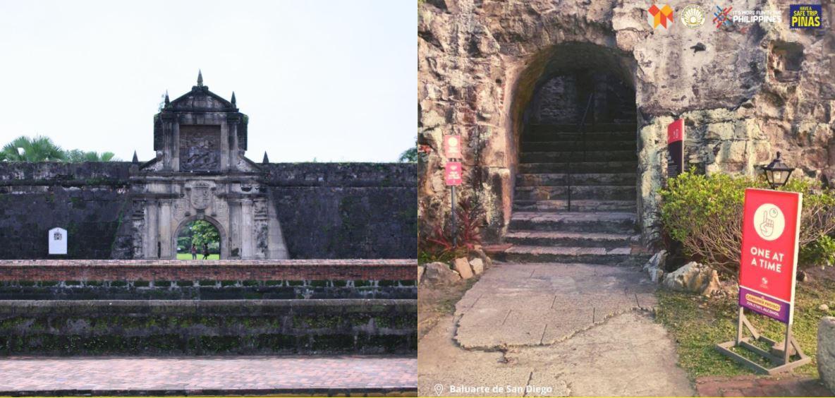 Intramuros' Fort Santiago, Baluarte de San Diego reopen
