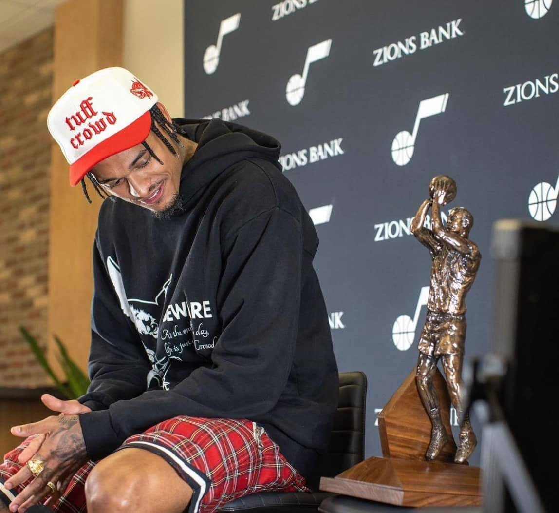 Jordan Clarkson NBA Man of the Year