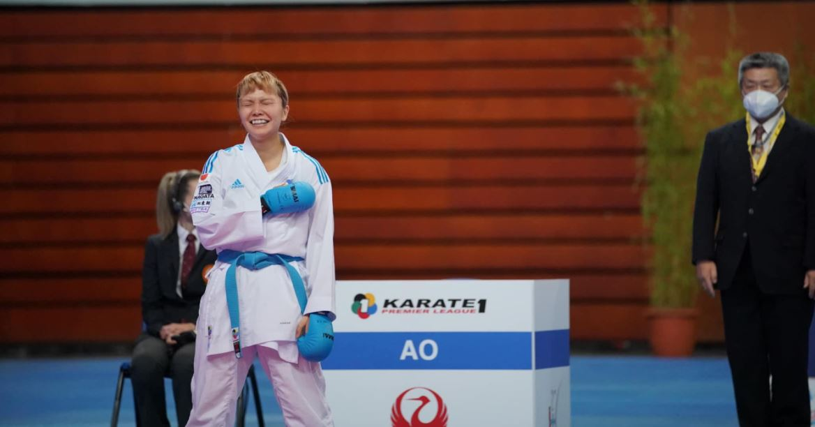 Junna Tsukii world rankings karate champion