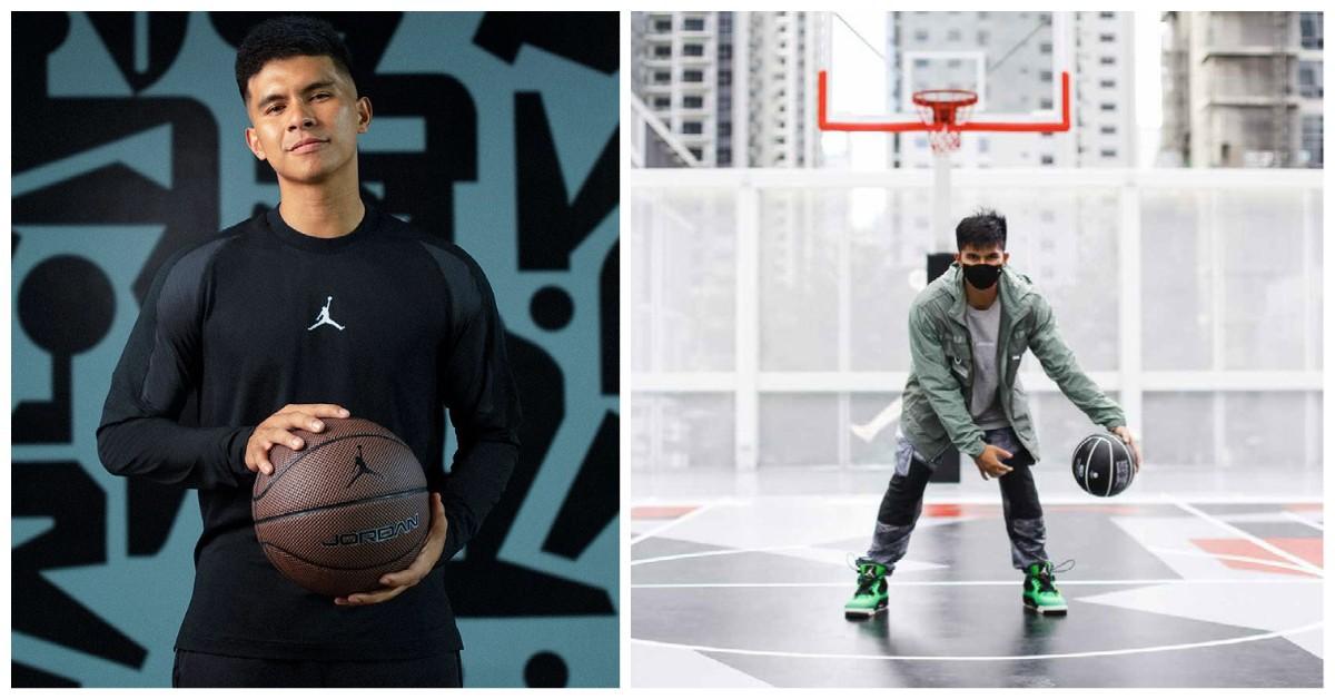 Kiefer Ravena Nike's Jordan brand