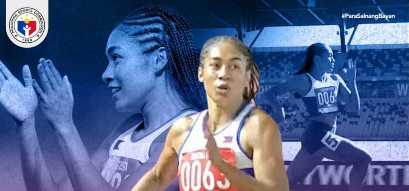 Filipino sprinter Kristina Knott