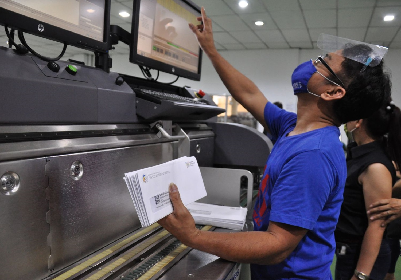 Post Office parcels zero backlogs