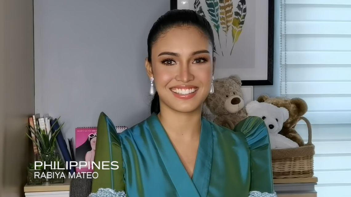 Rabiya Mateo Miss Universe Up Close video
