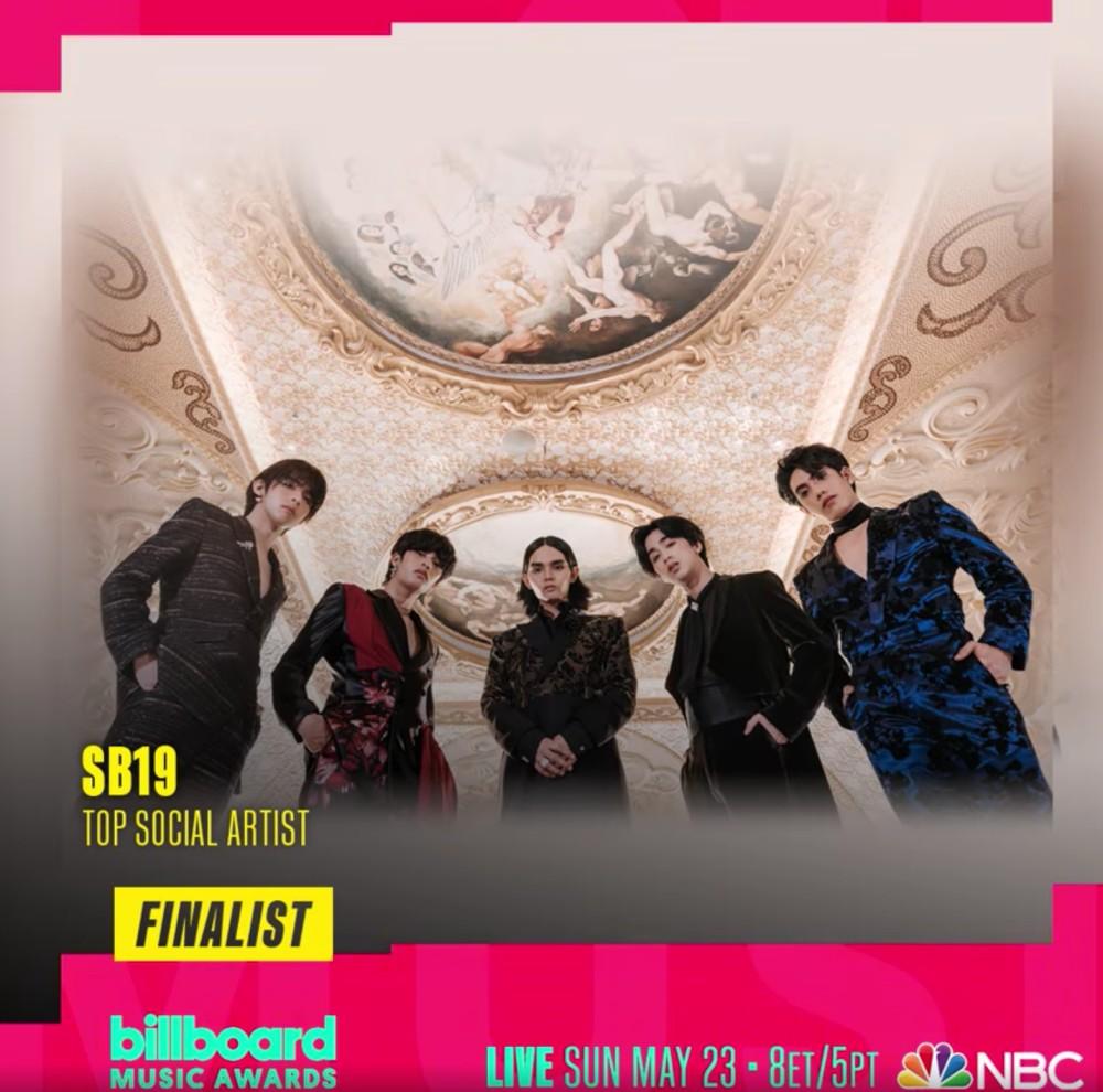 Pinoy pop group SB19  Billboard Music Awards