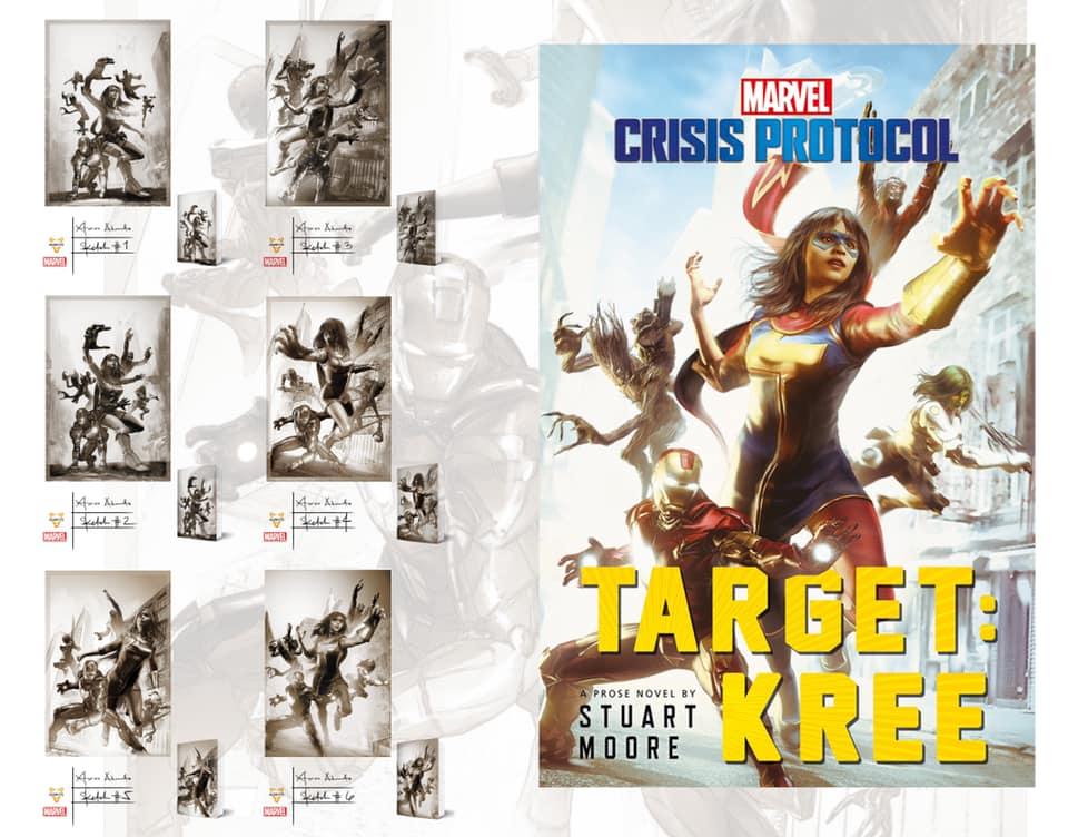 Silliman University alumnus Xteve Abanto Marvel cover art