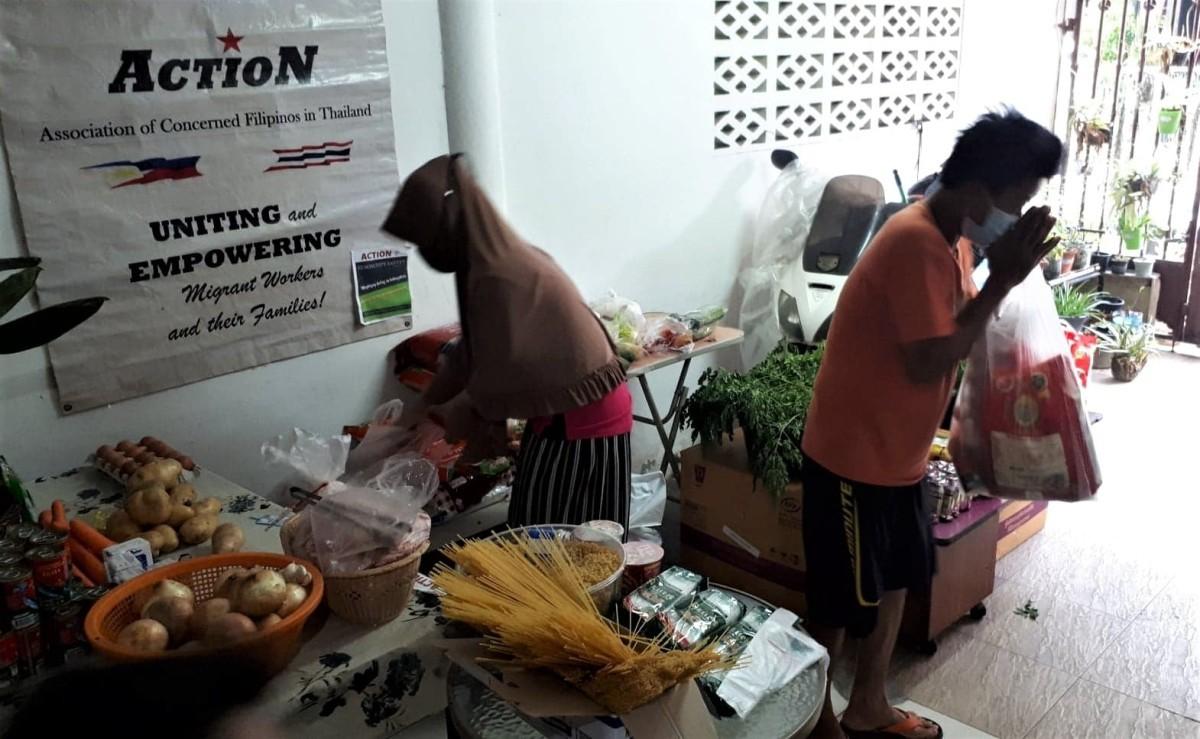 Filipino community pantry Thailand