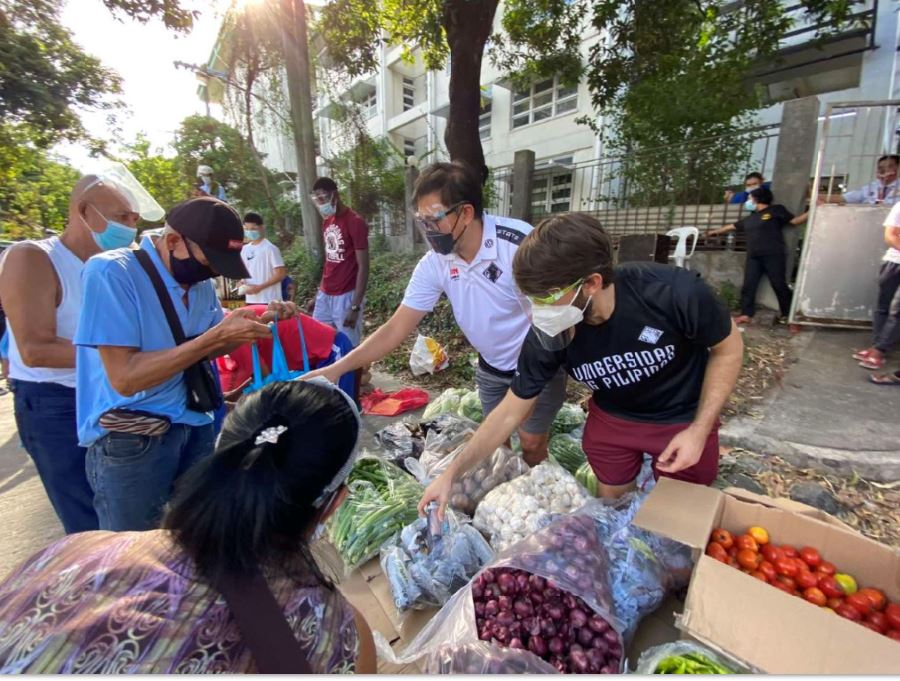 UP Diliman Fighting Maroons community pantry