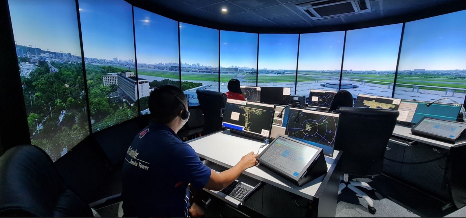 Philippines' 1st Aerodrome Tower 3D Simulator
