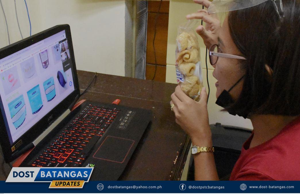 Batangas MSME product packaging label design
