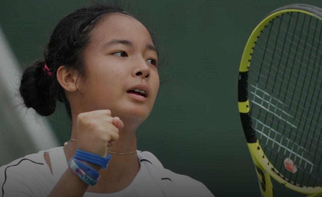 Teen tennis champion Alex Eala shot at girls' title