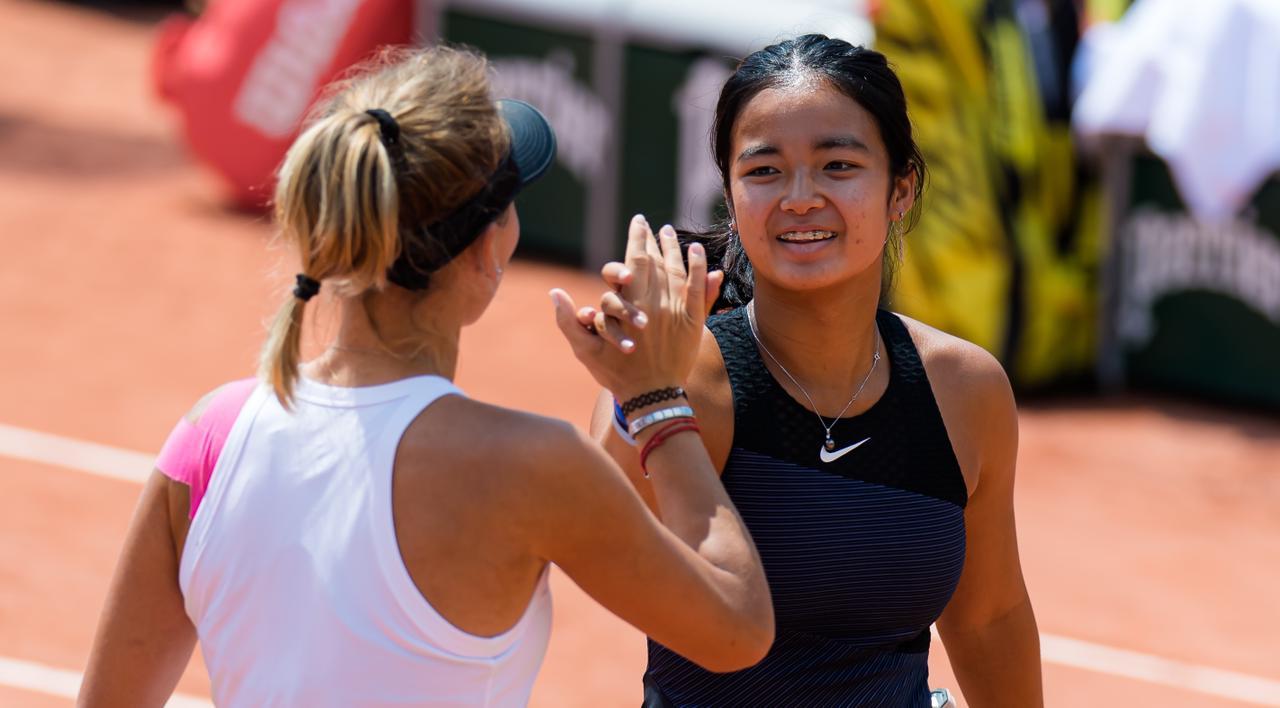 Alex Eala French Open Girls' Doubles