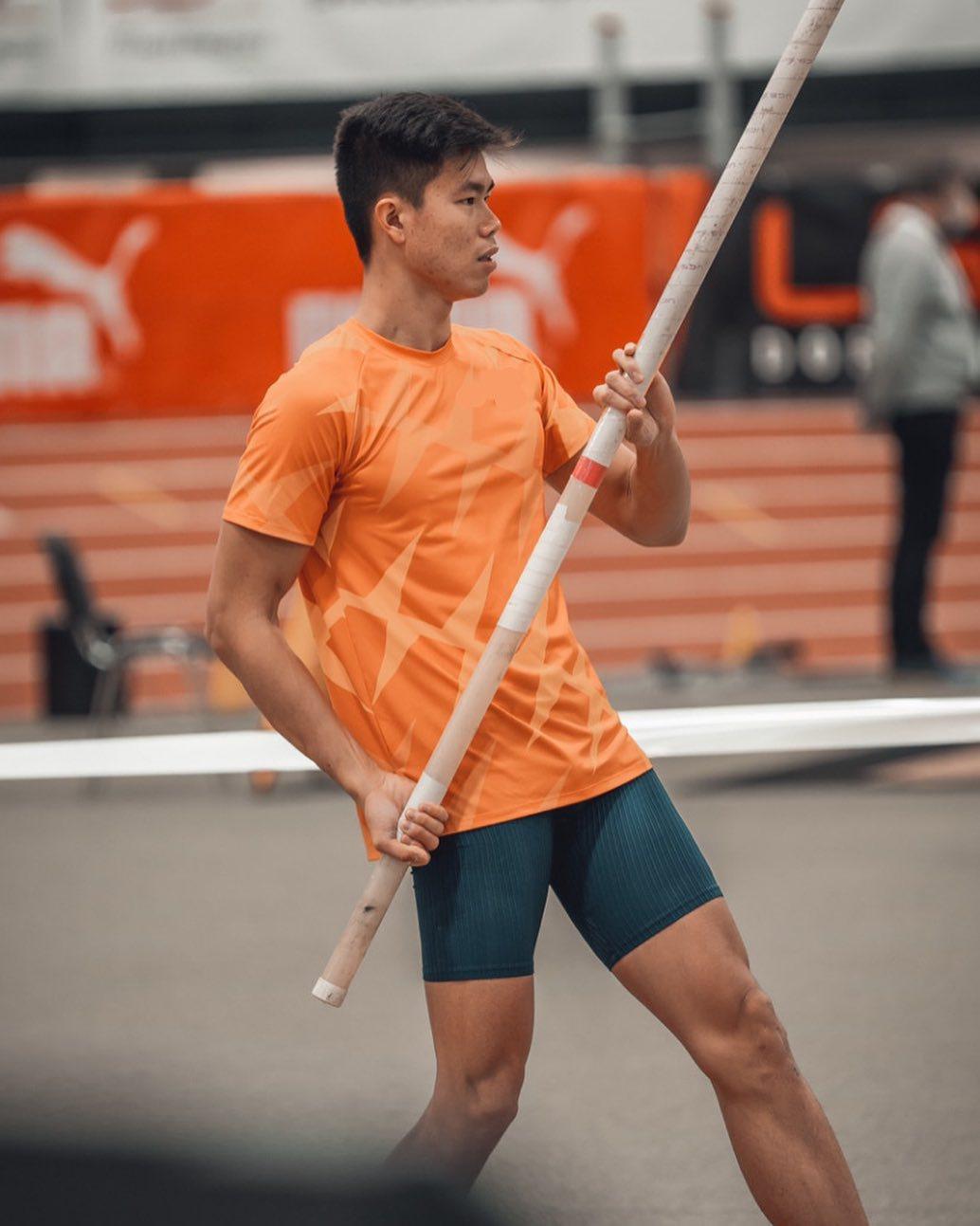 EJ Obiena pole vault gold Philippine record