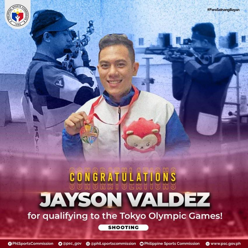 Jayson Valdez Tokyo Olympics