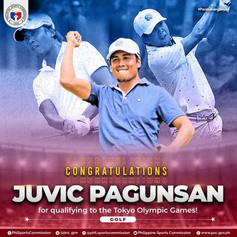 Juvic Pagunsan Tokyo Olympics