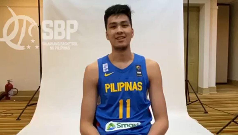 Kai Sotto Gilas Pilipinas FIBA Asia Cup Qualifiers