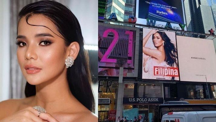 Leren Mae Bautista NY Times Square billboard