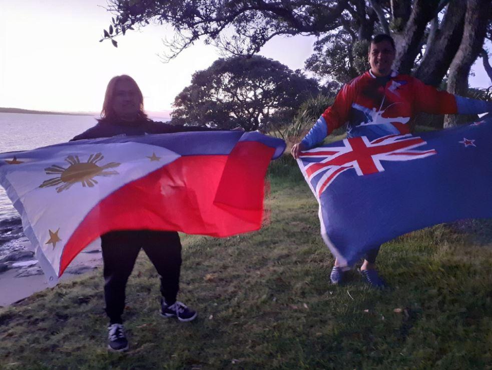 Flag-Raising Ceremony New Zealand