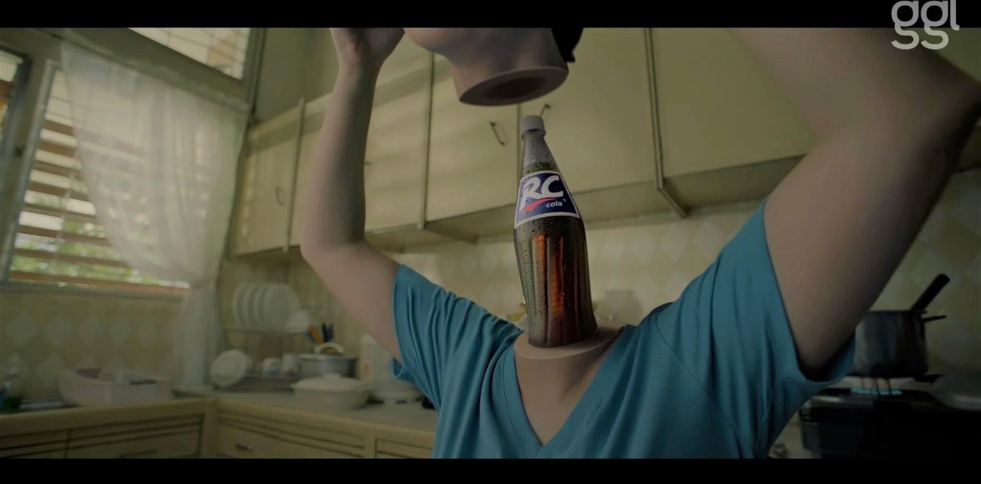RC Cola ad winsCannes Lions award